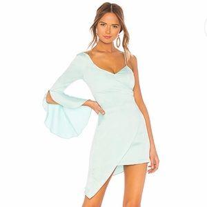 Majorelle x Revolve Georgina Dress Spearmint Blue